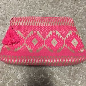 Mud pie Clutch Cosmetic case